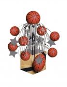 Centre de table en cascade Ballon de basket 34 x 10 cm