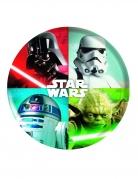 Assiette en plastique mélaminé Star Wars™ 21 cm