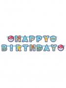 Guirlande Happy Birthday Pokémon™ 218 x 12 cm