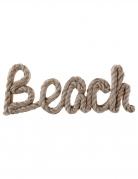 Décoration lettres en bois Beach 23,5 x 2,5 x 9 cm