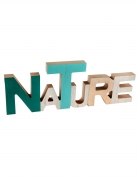 Décoration en bois Nature 30 cm