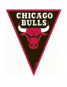 Guirlande fanions Chicago Bulls™ 360 cm