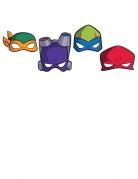 8 Masques carton Le Destin des Tortues Ninja™