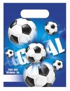 6 Sacs de fête football goal