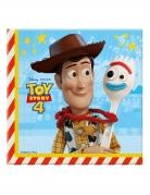 20 Serviettes en papier Toy Story 4™ 33 x 33 cm