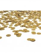 Confettis de table sequin dorés 4 mm 28,35 g