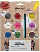 Palette professionnelle maquillage à l'eau 9 pots 4 g