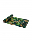 Chemin de table en lin jungle fever 28 cm x 5 m