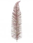 Feuille en métal rose gold 12,5 x 48 cm