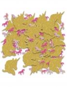 Confettis de table licorne pailletées 70 g
