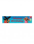 Bannière Happy Birthday Bing™ 270 x 20 cm
