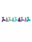 Guirlande en carton pompons tassels rêves de sirène 304 cm