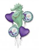 Bouquet de 5 ballons aluminium rêves de sirène