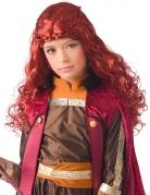 Perruque princesse bordeaux grand nord fille