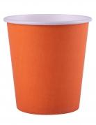 25 Gobelets en carton orange 200 ml