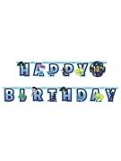 Guirlande personnalisable Happy Birthday battle royale 320 x 26 cm
