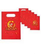 6 Sacs cadeaux en papier SamSam™ 23 x 16 cm