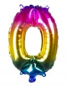 Ballon aluminium multicolore 36 cm