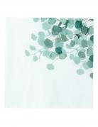 16 Serviettes en papier eucalyptus vert 33 x 33 cm
