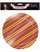 6 Assiettes en carton sorcier 22 cm