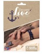 Kit bijoux porte-bonheur parure marine