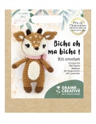 Kit crochet biche 17 cm