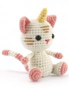 Kit crochet chat-licorne 15 cm