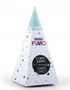 Cornet surprise bleu FIMO® Cactus 17 x 7 cm