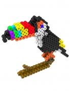 Kit perles à repasser 3D Toucan