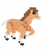 Kit perles à repasser 3D Cheval