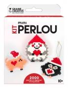 Kit perles à repasser Animaux de Noël 2000 perles