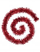 Guirlande de sapin rouge 2 m