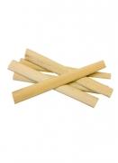 25 Bâtonnets de bambou naturel 11 cm x 0,8 cm x 0,3 cm