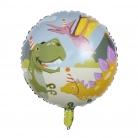 Ballon en aluminium Dino Party 45 cm